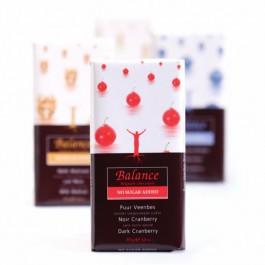 Balance -carb Schokolade: Dunkle Cranberry 85g