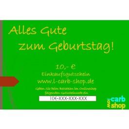 Geschenkgutschein: 10 €