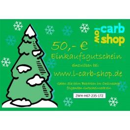 Geschenkgutschein: 50 €