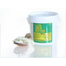 -carb fair trade Shea Butter, 100% rein, unraffiniert (250g)