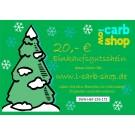 Geschenkgutschein: 20 €
