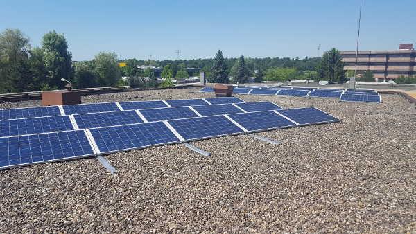 L-carb shop Solaranlage